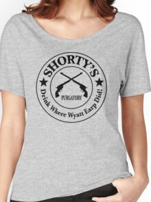 Shorty's Saloon from Wynonna Earp Women's Relaxed Fit T-Shirt