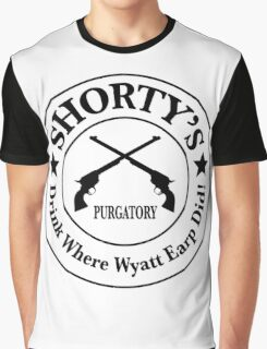Shorty's Saloon from Wynonna Earp Graphic T-Shirt