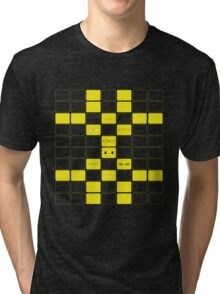 We See The Truth - TV Grid Tri-blend T-Shirt