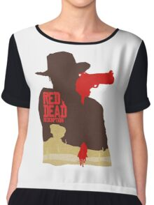 Red Dead Redemption #4 Chiffon Top