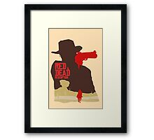 Red Dead Redemption #4 Framed Print