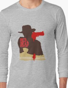 Red Dead Redemption #4 Long Sleeve T-Shirt