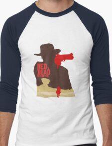 Red Dead Redemption #4 Men's Baseball ¾ T-Shirt