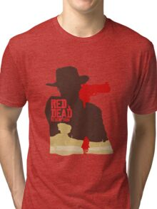 Red Dead Redemption #4 Tri-blend T-Shirt