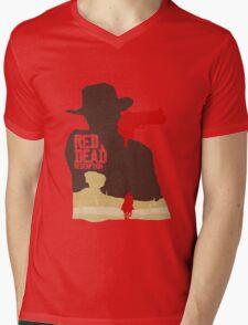 Red Dead Redemption #4 Mens V-Neck T-Shirt
