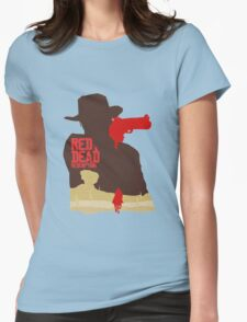Red Dead Redemption #4 Womens Fitted T-Shirt