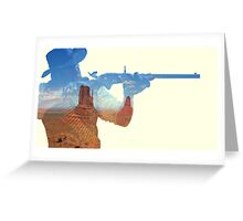 Red Dead Redemption #5 Greeting Card