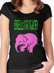 Delirium Women's Fitted Scoop T-Shirt