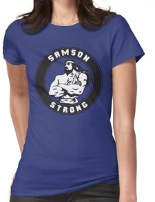 Samson Strong (Crest) Womens Fitted T-Shirt