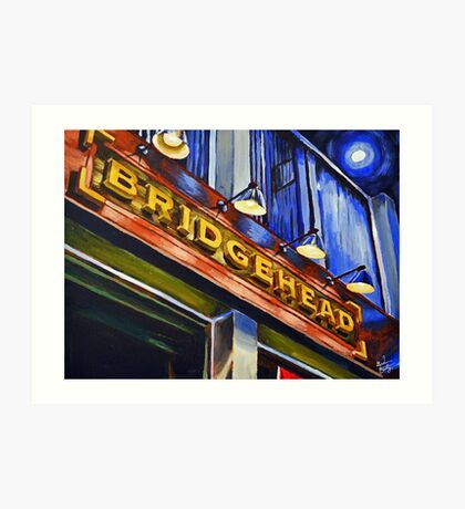 Bridgehead Art Print