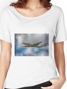 Lockheed L-1049 Super Constellation Women's Relaxed Fit T-Shirt