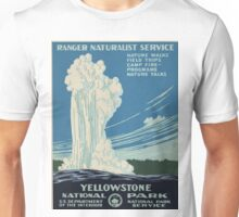 Vintage poster - Yellowstone Unisex T-Shirt