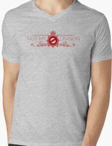 Not My Division Mens V-Neck T-Shirt