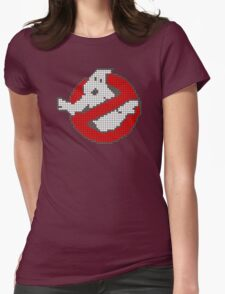 GHOSTBUSTERS 2016 (8 Bit) Womens Fitted T-Shirt