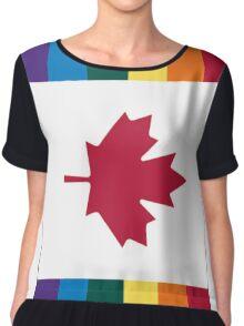 Canada Gay Chiffon Top