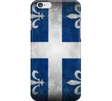 Quebec Flag Drapeau iPhone Case/Skin
