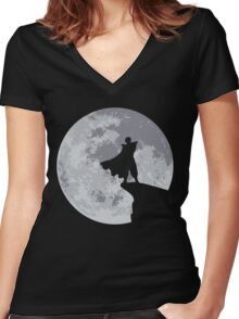 Piccolo Women's Fitted V-Neck T-Shirt