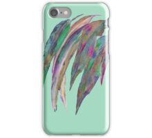 Abstract gum leaves 2 iPhone Case/Skin