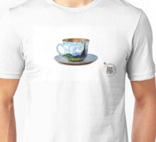 TeaVanGogh - Wheat Field with Cypresses Unisex T-Shirt