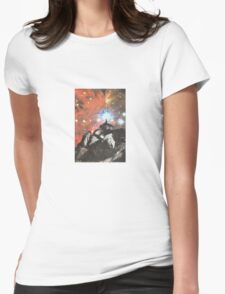 Nowhere Womens Fitted T-Shirt