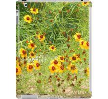 Plains Coreopsis Walking iPad Case/Skin