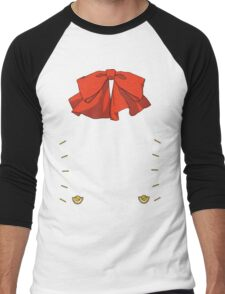 Persona 3 Aigis ribbon Men's Baseball ¾ T-Shirt