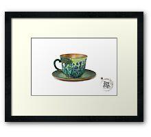 TeaVanGogh - Irises Framed Print