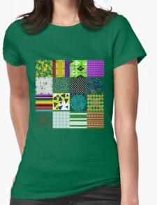 Mashup Mix Womens Fitted T-Shirt