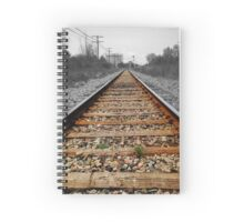 Down the Railroad Spiral Notebook