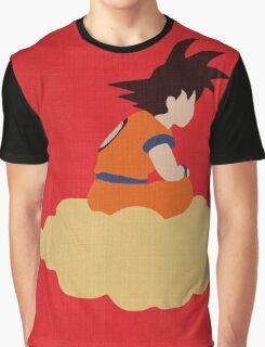 Minimalist Goku Graphic T-Shirt