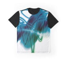 Prismatic Effect Graphic T-Shirt