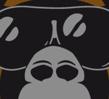 Gorilla agro head sunglasses Sticker