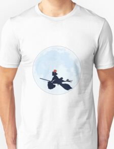 Kiki's Delivery Service Moon Unisex T-Shirt