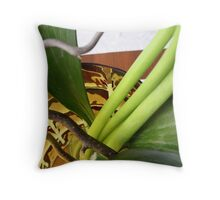Rutes and Stems Throw Pillow