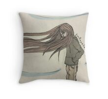 Simple life, comfort and breathing. Throw Pillow
