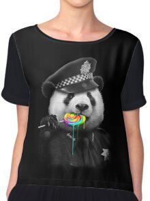 Police Panda Lollypop Chiffon Top