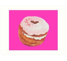 Cronut painting Art Print