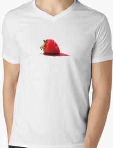 Strawberry Death Mens V-Neck T-Shirt