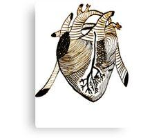 Empty Heart Canvas Print