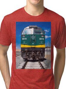 Train Lhasa - Shanghai Tri-blend T-Shirt