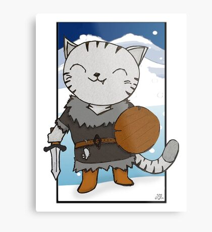 RPG Kitty Metal Print