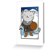 RPG Kitty Greeting Card