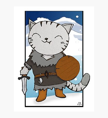 RPG Kitty Photographic Print