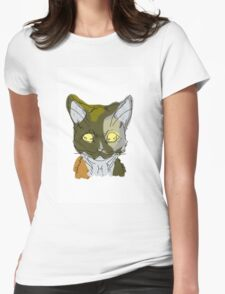 Calico Womens Fitted T-Shirt