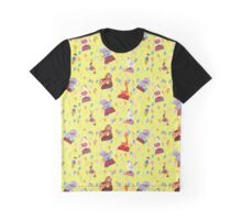 Yellow Carnival  by Lollypop Arts Graphic T-Shirt