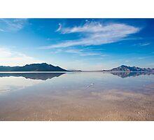 Bonneville Salt Flats, USA Photographic Print