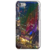 Skyline of Ho Chi Minh city by night, Vietnam iPhone Case/Skin