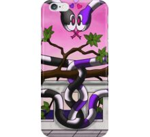 Hugs and Hisses iPhone Case/Skin