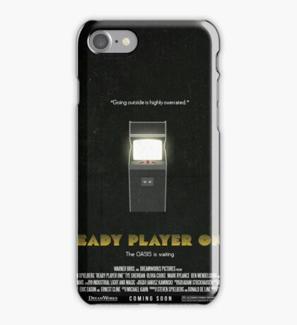 Ready Player One - Film Poster iPhone Case/Skin