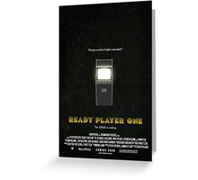 Ready Player One - Film Poster Greeting Card